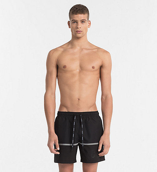 CALVINKLEIN Swim Shorts - Intense Power - BLACK - CALVIN KLEIN SWIM SHORTS - main image