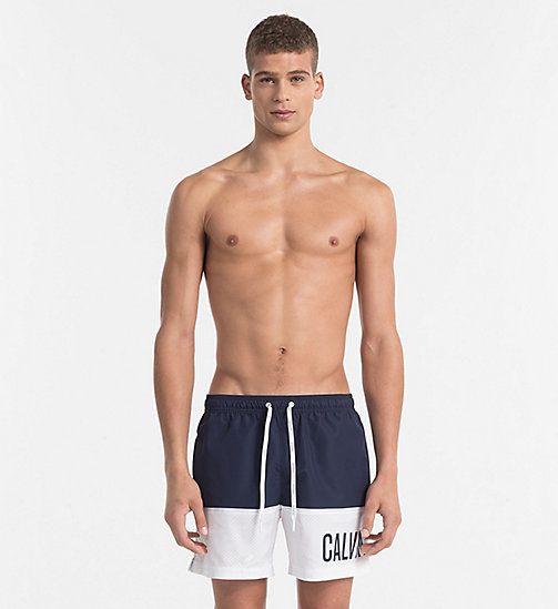 CALVINKLEIN Swim Shorts - Intense Power - BLUE SHADOW - CALVIN KLEIN SWIM SHORTS - main image