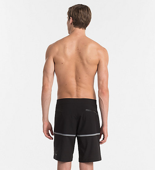 CALVINKLEIN Boardshort - Intense Power - BLACK -  SHORTS DE BAIN - image détaillée 1