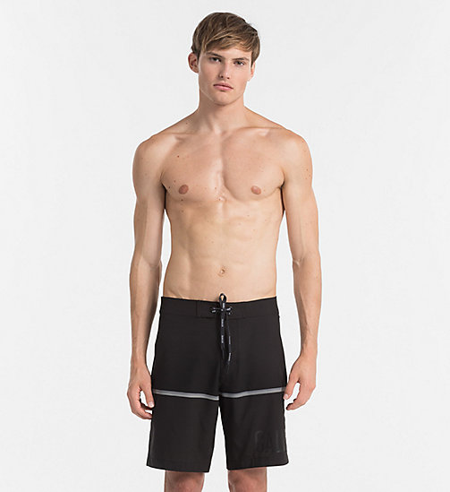CALVINKLEIN Boardshort - Intense Power - BLACK -  SHORTS DE BAIN - image principale