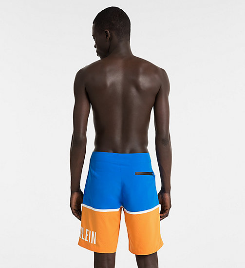 CALVINKLEIN Boardshorts - Intense Power - 18-4245-ELECTRIC BLUE LEMONADE - CALVIN KLEIN SWIMWEAR - detail image 1