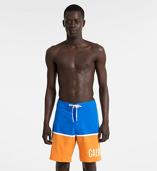 CALVINKLEIN Boardshorts - Intense Power - 18-4245-ELECTRIC BLUE LEMONADE - CALVIN KLEIN SWIMWEAR - main image