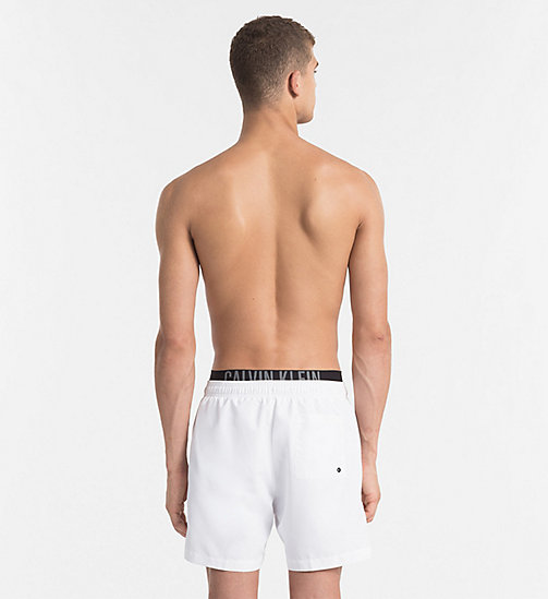 CALVINKLEIN Swim Shorts - Intense Power - WHITE - CALVIN KLEIN LOGO SHOP - detail image 1