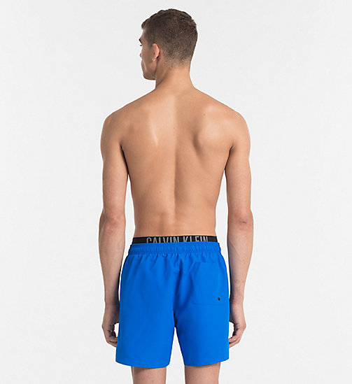 CALVINKLEIN Swim Shorts - Intense Power - 18-4245-ELECTRIC BLUE LEMONADE - CALVIN KLEIN LOGO SHOP - detail image 1