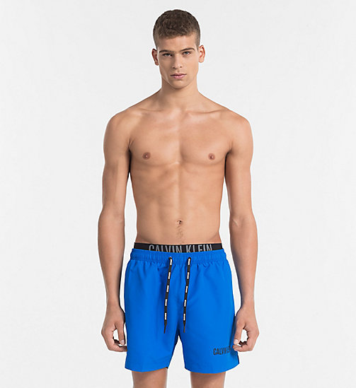 CALVINKLEIN Badeshorts - Intense Power - 18-4245-ELECTRIC BLUE LEMONADE - CALVIN KLEIN LOGO SHOP - main image