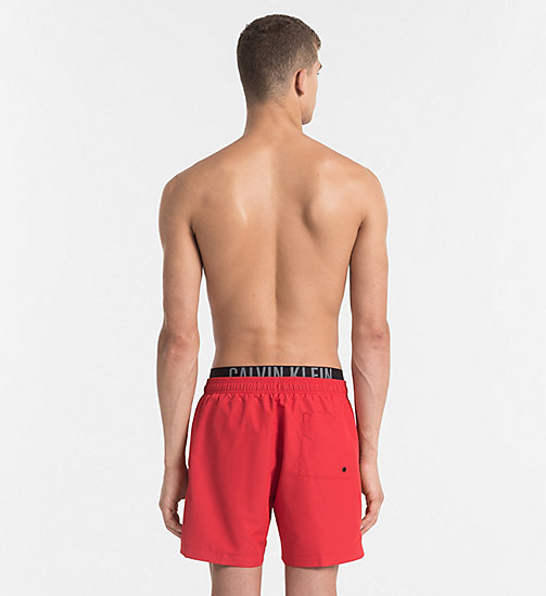 CALVINKLEIN Swim Shorts - Intense Power - SALSA - CALVIN KLEIN SWIM SHORTS - detail image 1