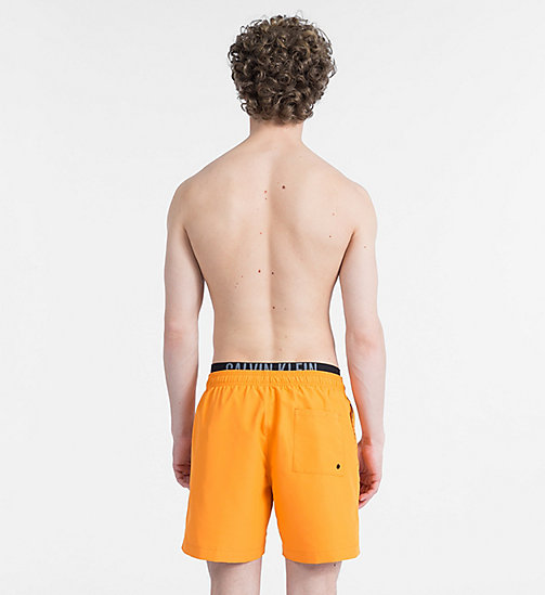 CALVINKLEIN Swim Shorts - Intense Power - SUN ORANGE - CALVIN KLEIN NEW IN - detail image 1