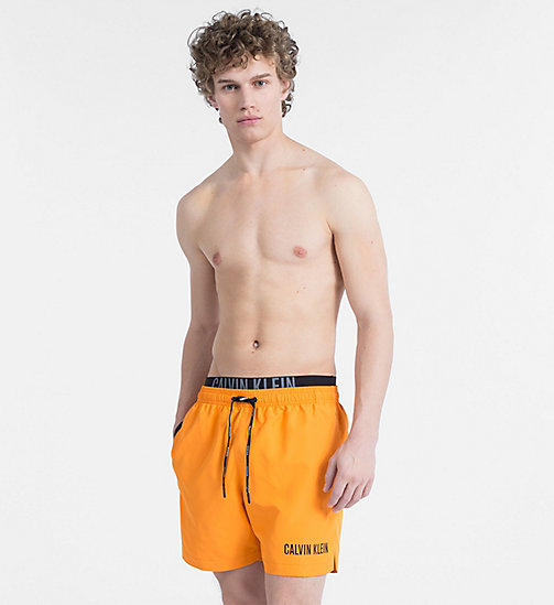 CALVINKLEIN Swim Shorts - Intense Power - SUN ORANGE - CALVIN KLEIN NEW IN - main image