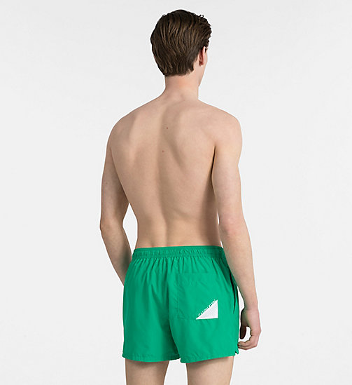 CALVINKLEIN Swim Shorts - Core Diagonal - MINT - CALVIN KLEIN SWIMWEAR - detail image 1