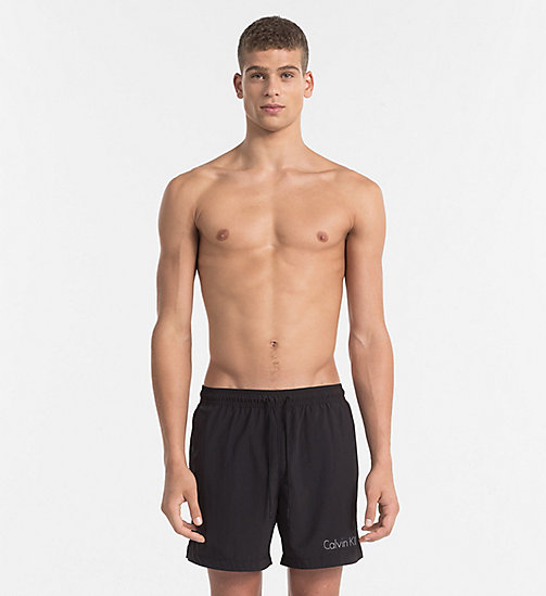 CALVINKLEIN Swim Shorts - Core Neo - BLACK - CALVIN KLEIN SWIM SHORTS - main image