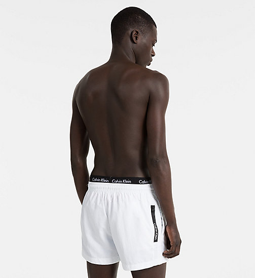 CALVINKLEIN Swim Shorts - Core Neo - WHITE - CALVIN KLEIN SWIM SHORTS - detail image 1