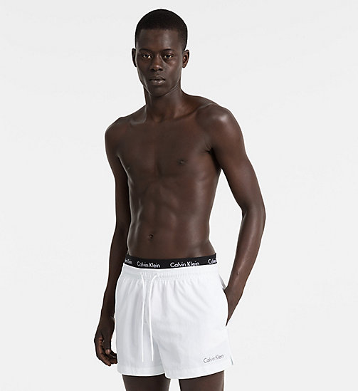 CALVINKLEIN Swim Shorts - Core Neo - WHITE - CALVIN KLEIN SWIM SHORTS - main image