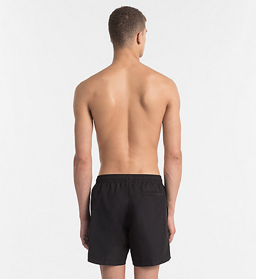 CALVINKLEIN Swim Shorts - Core Solids - BLACK - CALVIN KLEIN SWIM SHORTS - detail image 1