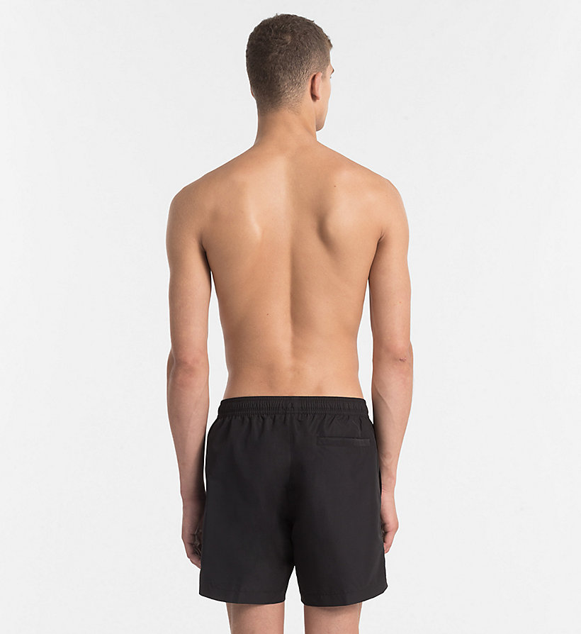 CALVIN KLEIN Swim Shorts - Core Solids - BLUE SHADOW - CALVIN KLEIN UNDERWEAR - detail image 1