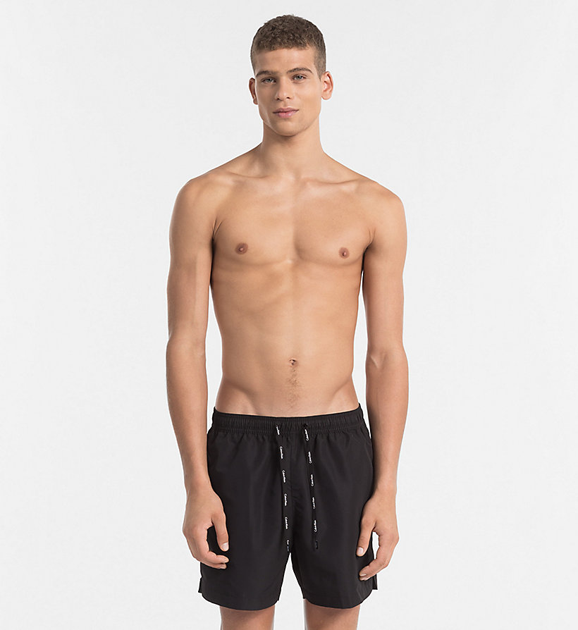 CALVINKLEIN Swim Shorts - Core Solids - BLUE SHADOW - CALVIN KLEIN UNDERWEAR - main image