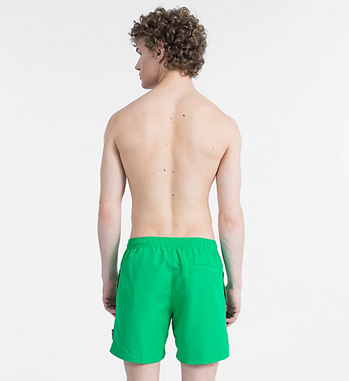 CALVINKLEIN Swim Shorts - Core Solids - MINT - CALVIN KLEIN SWIMWEAR - detail image 1