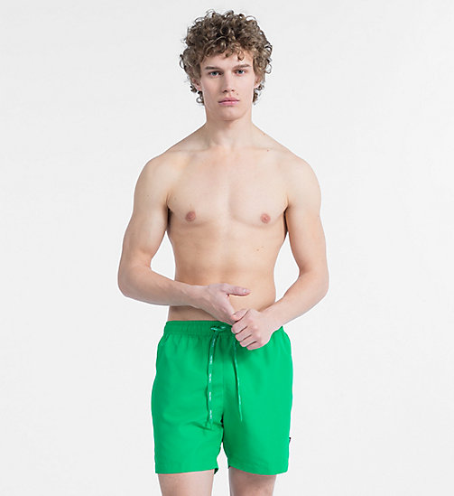 CALVINKLEIN Swim Shorts - Core Solids - MINT - CALVIN KLEIN SWIM SHORTS - main image