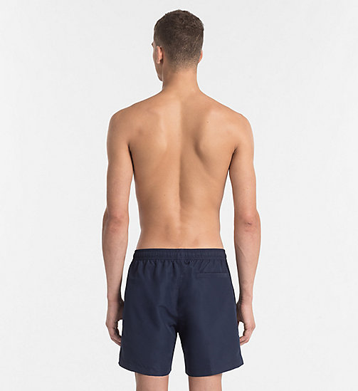 CALVINKLEIN Swim Shorts - Core Solids - BLUE SHADOW - CALVIN KLEIN SWIM SHORTS - detail image 1