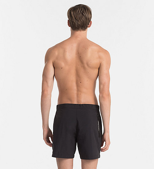 CALVINKLEIN Swim Shorts - Core Neo - BLACK - CALVIN KLEIN SWIM SHORTS - detail image 1