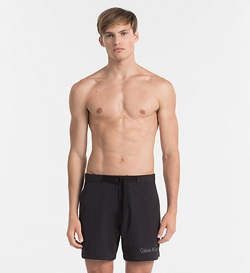 CALVINKLEIN Swim Shorts - Core Neo - BLACK - CALVIN KLEIN SWIMWEAR - main image