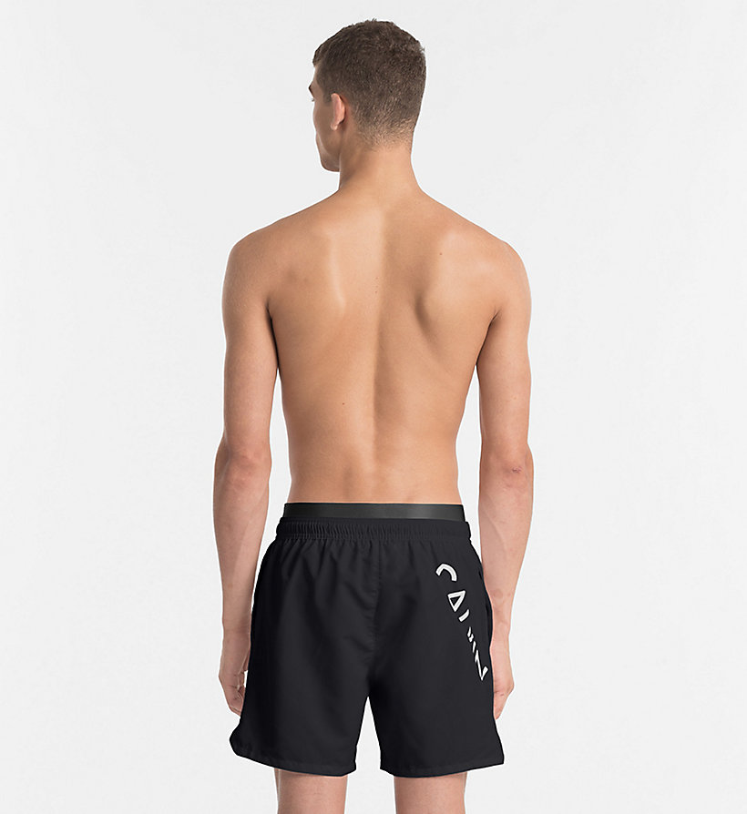 CALVINKLEIN Swim Shorts - Core Diagonal - BLUE SHADOW - CALVIN KLEIN UNDERWEAR - detail image 1