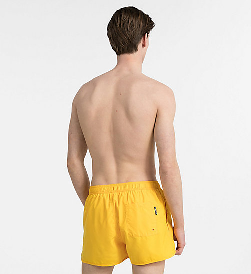 CALVINKLEIN Swim Shorts - Core Solids - GOLD FUSION - CALVIN KLEIN SWIMWEAR - detail image 1