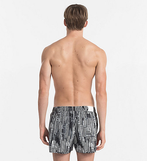 CALVINKLEIN Swim Shorts - CK NYC - CITY BLACK - CALVIN KLEIN SWIM SHORTS - detail image 1