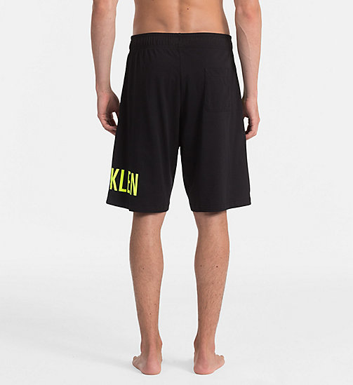 CALVINKLEIN Logo Shorts - Intense Power - BLACK - CALVIN KLEIN SWIM SHORTS - detail image 1