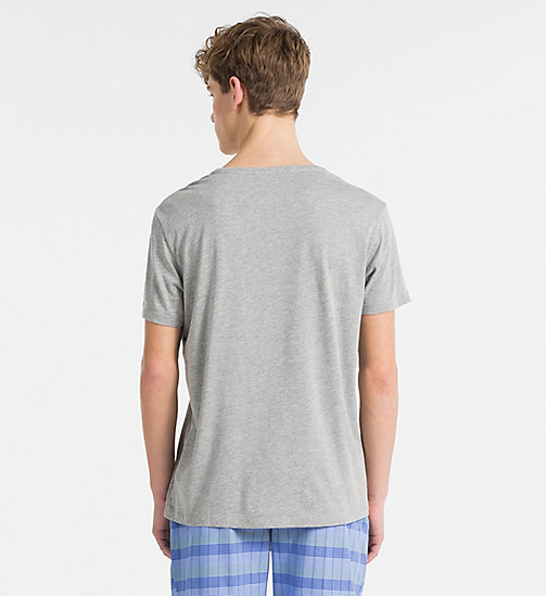 CALVINKLEIN Relaxed T-shirt - CK NYC - GREY HEATHER - CALVIN KLEIN STRANDKLEDING - detail image 1