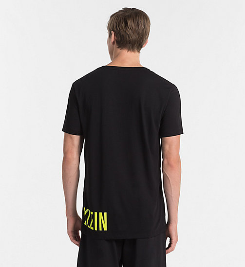 CALVINKLEIN Logo T-shirt - Intense Power - BLACK - CALVIN KLEIN BEACHWEAR - detail image 1