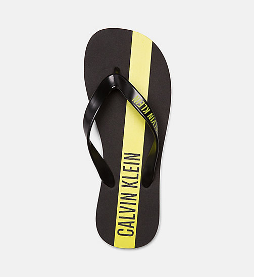 CALVINKLEIN Flip Flops - Intense Power - BLACK - CALVIN KLEIN SLIDERS - detail image 1