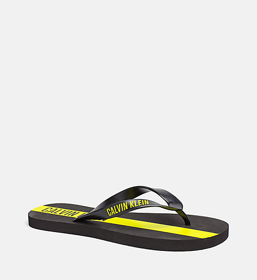 CALVINKLEIN Flip Flops - Intense Power - BLACK - CALVIN KLEIN SLIDERS - main image