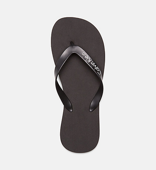 CALVINKLEIN Flip Flops - Core Lifestyle - BLACK - CALVIN KLEIN NEW IN - detail image 1