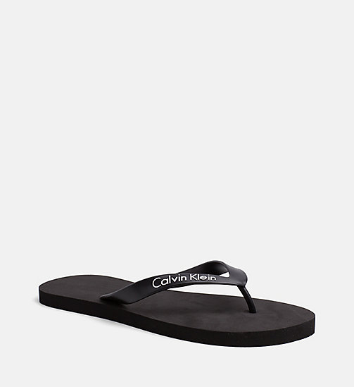 CALVINKLEIN Flip Flops - Core Lifestyle - BLACK - CALVIN KLEIN NEW IN - main image