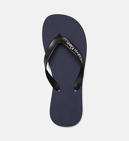 CALVINKLEIN Flip Flops - Core Lifestyle - BLUE SHADOW - CALVIN KLEIN NEW IN - detail image 1