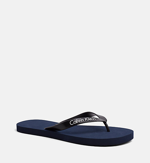 CALVINKLEIN Slipper - Core Lifestyle - BLUE SHADOW - CALVIN KLEIN NEW IN - main image
