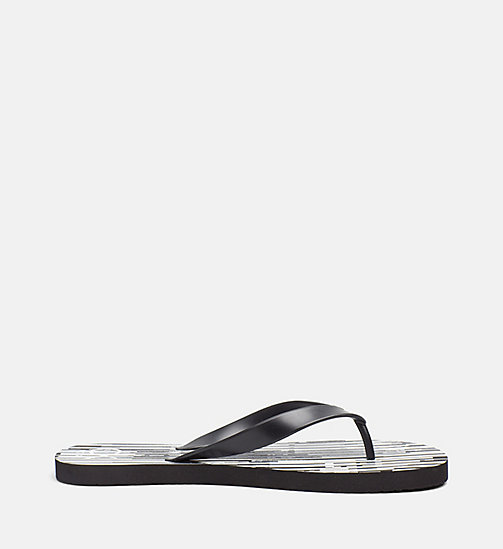 CALVINKLEIN Flip Flops - CK NYC - CITY BLACK - CALVIN KLEIN ACCESSORIES - detail image 1