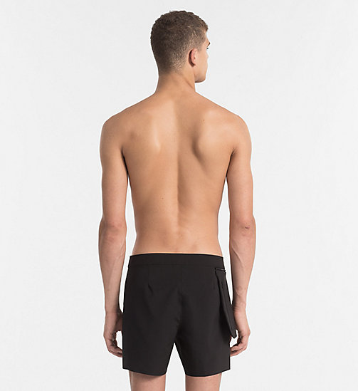 CALVINKLEIN Boardshorts - Cutting Edge Calvin - PVH BLACK - CALVIN KLEIN NEW IN - detail image 1