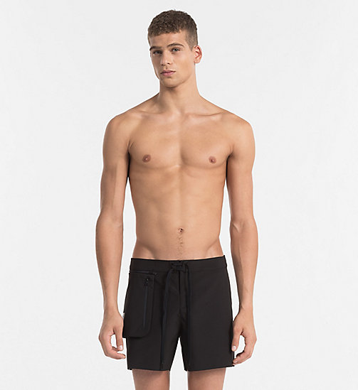 CALVINKLEIN Boardshorts - Cutting Edge Calvin - PVH BLACK - CALVIN KLEIN NEW IN - main image