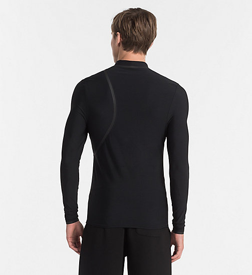CALVINKLEIN Rash Guard - Cutting Edge - BLACK/WHITE - CALVIN KLEIN BEACHWEAR - detail image 1