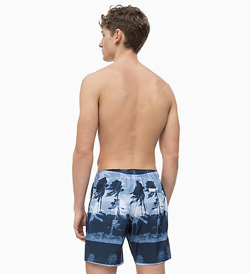CALVIN KLEIN Swim Shorts - Core Solids - HURRICANE BLUE - CALVIN KLEIN SWIM SHORTS - detail image 1