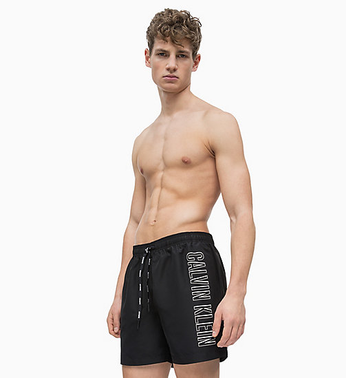 CALVIN KLEIN Swim Shorts - Intense Power - BLACK - CALVIN KLEIN SWIM SHORTS - main image