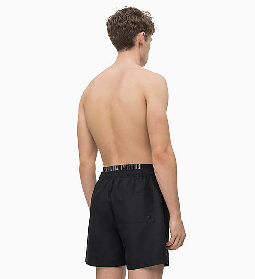CALVIN KLEIN Swim Shorts - Intense Power - BLACK - CALVIN KLEIN SWIM SHORTS - detail image 1