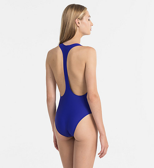 CALVINKLEIN Swimsuit - CK NYC - ULTRAMARINE BLUE -  SWIMSUITS - detail image 1