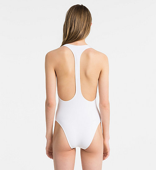 CALVINKLEIN Swimsuit - CK NYC - PVH WHITE - CALVIN KLEIN SWIMSUITS - detail image 1