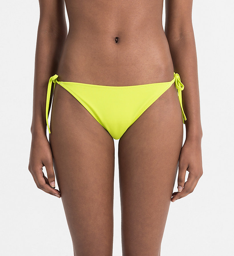 CALVINKLEIN Bikini Bottom - Intense Power - BLACK - CALVIN KLEIN UNDERWEAR - main image