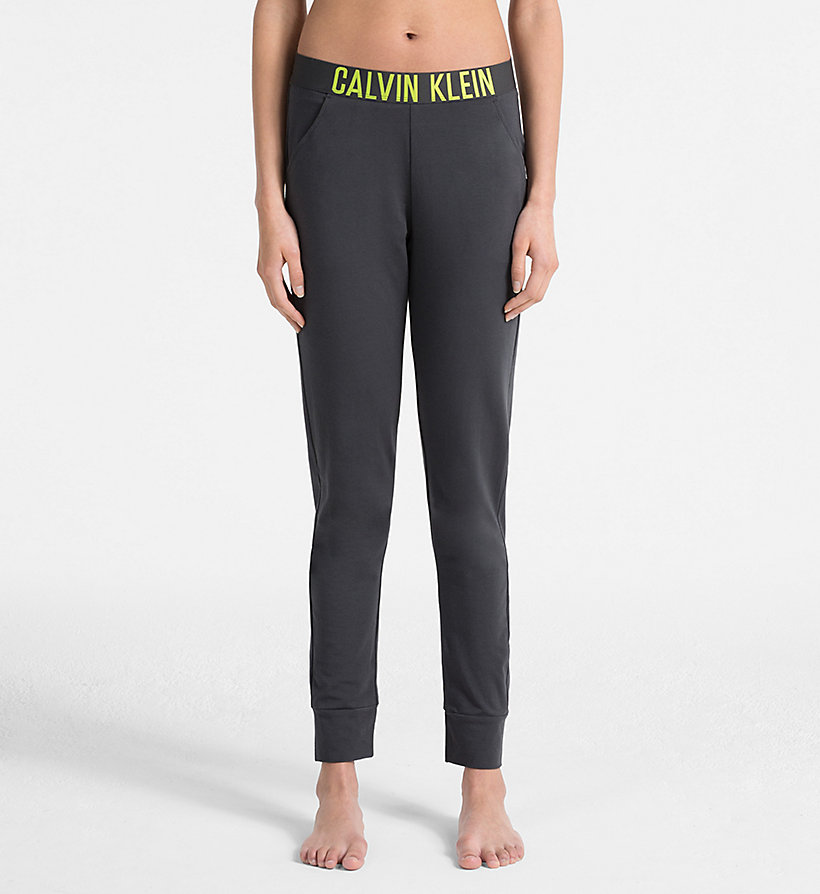 CALVINKLEIN Jogging Pants - Intense Power - BLACK - CALVIN KLEIN TROUSERS - main image