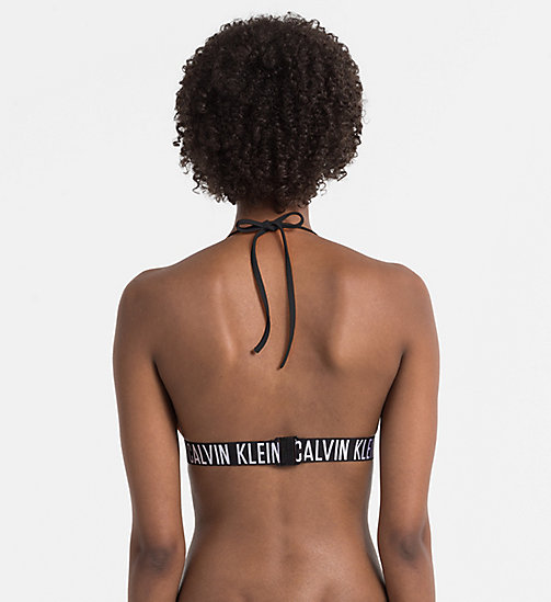 CALVINKLEIN Triangle Bikini Top - Intense Power - PVH BLACK - CALVIN KLEIN LOGO SHOP - detail image 1