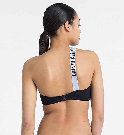 CALVINKLEIN Bandeau Bikini Top - Intense Power - PVH BLACK - CALVIN KLEIN NEW IN - detail image 1