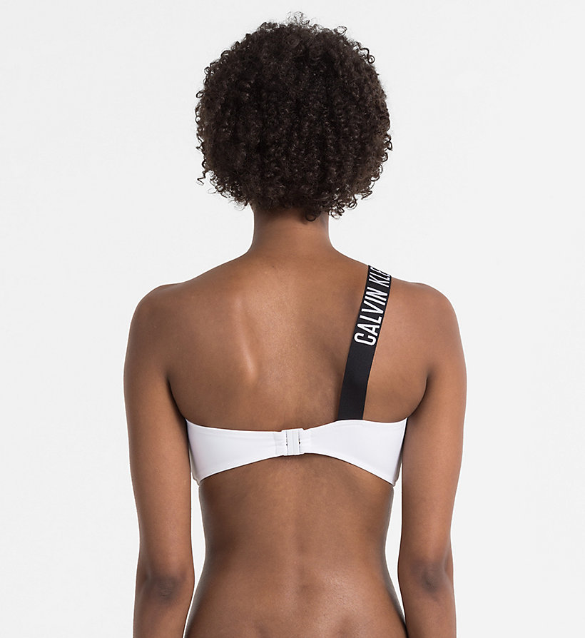 CALVINKLEIN Bandeau Bikini Top - Intense Power - BLACK - CALVIN KLEIN UNDERWEAR - detail image 1